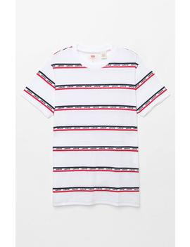 Set In Mission Stripe T Shirt by Levi's