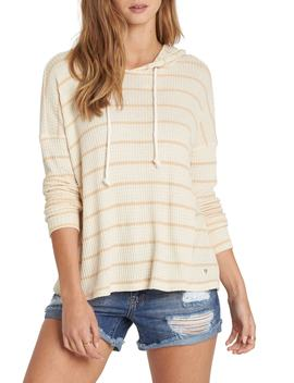 Lounge Around Stripe Hooded Top by Billabong