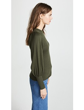 Dewi Puff Sleeve Sweater by Apiece Apart