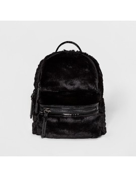 Women's Under One Sky Faux Fur Backpack by Shop All Under One Sky