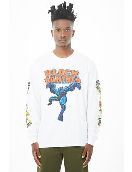 Black Panther Graphic Top by Forever 21