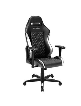 Dx Racer Drifting Series Doh/Df73/Nw Newedge Edition Racing Bucket Seat Office Chair Gaming Chair Ergonomic Computer Chair E Sports Desk Chair Executive Chair Furniture Pillows (Black/White) by Dx Racer