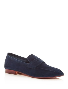Women's Dean Suede Penny Loafers by Kenneth Cole