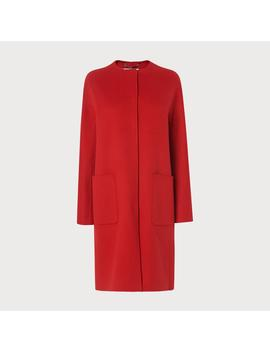 Pandora Red Wool Cashmere Coat by L.K.Bennett