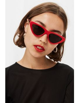 Pointy Polly Sunglasses by Topshop