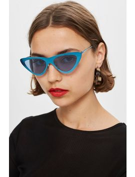 pointy-sunglasses by topshop