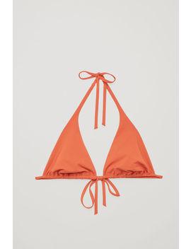 Triangle Bikini Top by Cos