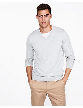 V Neck Pullover Sweater by Express