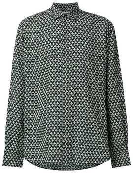 Saint Laurentoversized Printed Shirthome Men Saint Laurent Clothing Shirts by Saint Laurent