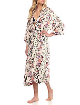 Gigi Floral Robe   Ob576602 by Free People