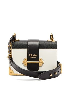 Cahier Leather Cross Body Bag by Prada