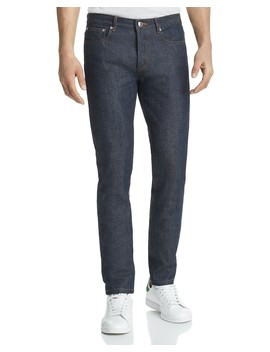 Petit New Standard Straight Fit Jeans In Indigo by A.P.C.