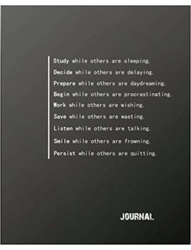 "Journal: Inspirational Positive Quote Bullet   Journal Dot Grid L Notebook (8"" X   10"") Large 8mm X 8mm Dot Grid  Volume 1 (Inspirational Motivational Positive   Quotes Dot Grid Bullet Journal Series) by Amazon"