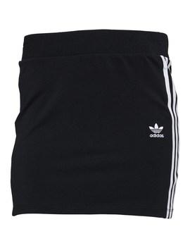 Adidas Originals Womens 3 Stripe Skirt Black by Mand M Direct