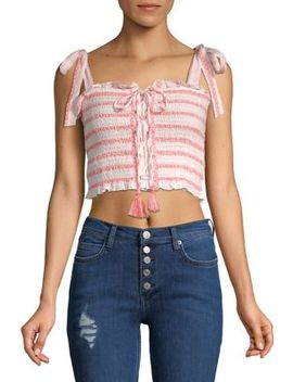 Electric Love Smocked Top by Free People