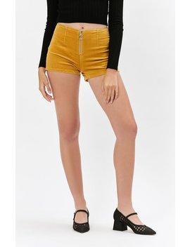 Zip Corduroy Shorts by Pac Sun