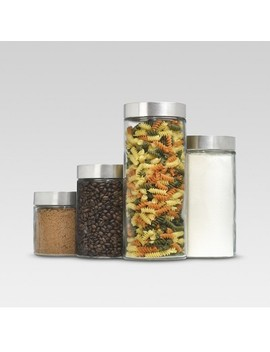 Glass Cylinder Canister Set Of 4   Threshold™ by Shop All Threshold™
