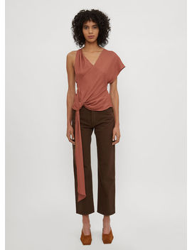 Le Haut Passo Top In Brown by Jacquemus