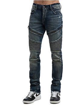 Mens Moto Rocco Skinny Jean by True Religion