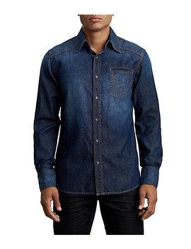 Midnight Denim Western Shirt by True Religion