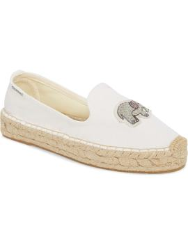 Beaded Elephant Slip On by Soludos