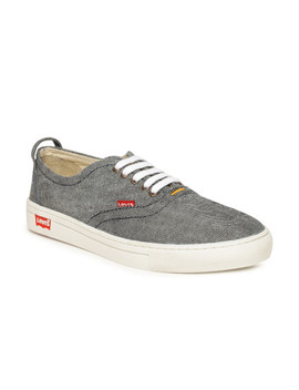 Levi's Men Grey Denim Sneakers by Levis