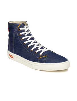 Levi's Men Blue Denim Sneakers by Levis