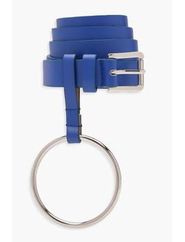 Molly O Ring Belt by Boohoo