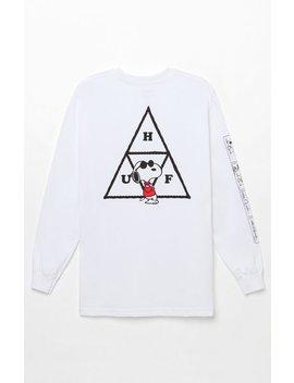 X Peanuts Joe Cool Long Sleeve T Shirt by Huf