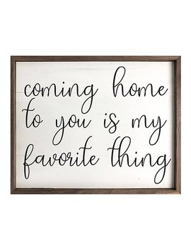'coming Home' Framed Wall Art by Kendrick Home