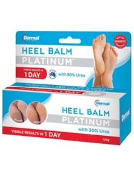 Dermal Therapy Heel Balm Platinum 125g by Foot Care