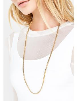 Feelin' Boujee Chain Necklace by Fame Accessories