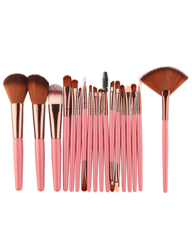 Hot Sales 2018 18 Pcs/Pack Makeup Brushes Tool Set Cosmetic Power Eye Shadow Foundation Blush Blending Beauty Make Up Brush  by O.Two.O