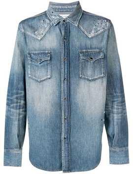 Saint Laurentджинсовая рубашкаГлавная страницаМужскоеsaint LaurentОдеждаДжинсовые рубашки by Saint Laurent