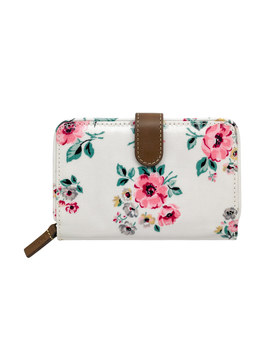 Grove Bunch Folded Zip Wallet by Cath Kidston