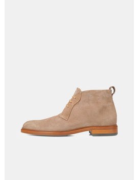 Brunswick Suede Boots by Vince