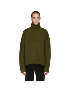 Green Nalle Turtleneck by Acne Studios
