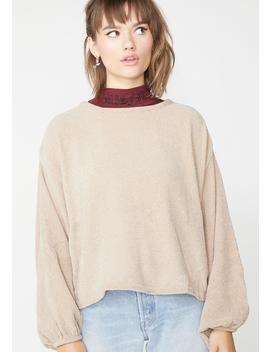Coco Deep Thinkin Knit Sweater by O O