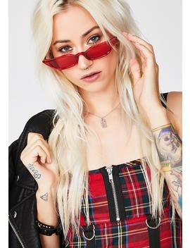 Cherry Bad Biddie Blvd Sunglasses by Lucent