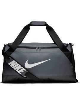Nike Brasilia Medium Holdall   Grey by Argos