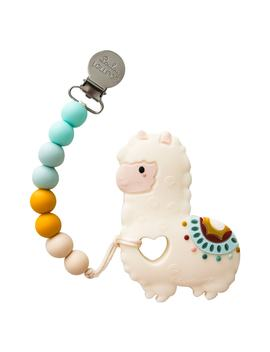 Llama Teething Toy & Holder by Loulou Lollipop
