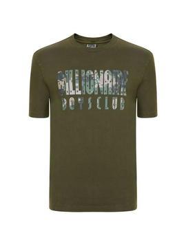 Camouflage Overdye T Shirt by Billionaire Boys Club
