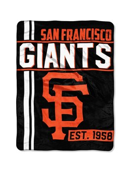 "San Francisco Giants The Northwest Company 46"" X 60"" Walk Off Micro Raschel Throw Blanket by The Northwest Company"