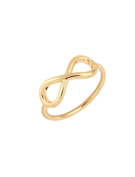 Shuangshuo 2017 New Fashion Simple Silver Infinity Rings For Women Minimalist Jewelry Rings For Gils Party Ring by Shuangshuo