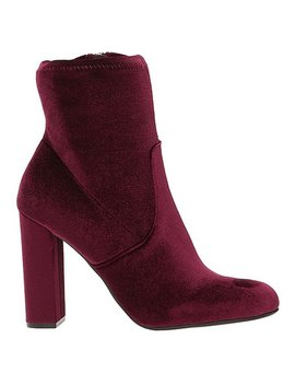 Burgundy Edit Bootie   Women by Steve Madden