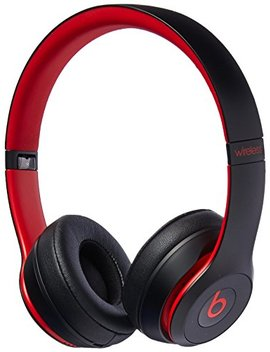 Beats Solo3 Wireless On Ear Headphones   The Beats Decade Collection   Defiant Black Red by Beats
