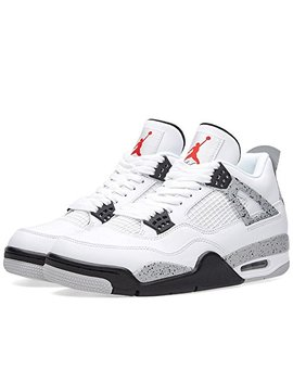 Nike Air Jordan 4 Retro Og Mens Hi Top Basketball Trainers 840606 Sneakers Shoes by Jordan