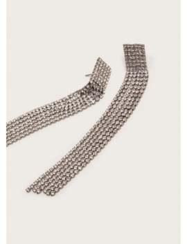 Ohrringe Mit Facettierten Kristallsteinen by Mango