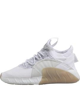 Adidas Originals Tubular Rise Trainers Footwear White/Footwear White/Footwear White by Mand M Direct