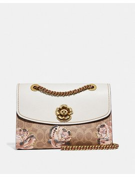 Parker In Embellished Signature Rose Print by Coach